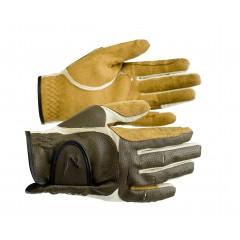 Rękawiczki ze skóry syntetycznej Horze Elisabeth