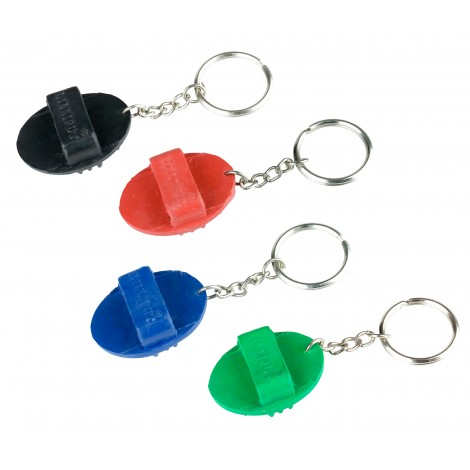 Breloczek na klucze – gumowa szczotka